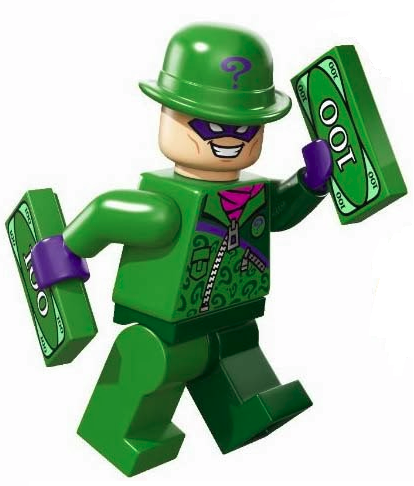 The Riddler - Brickipedia, the LEGO Wiki
