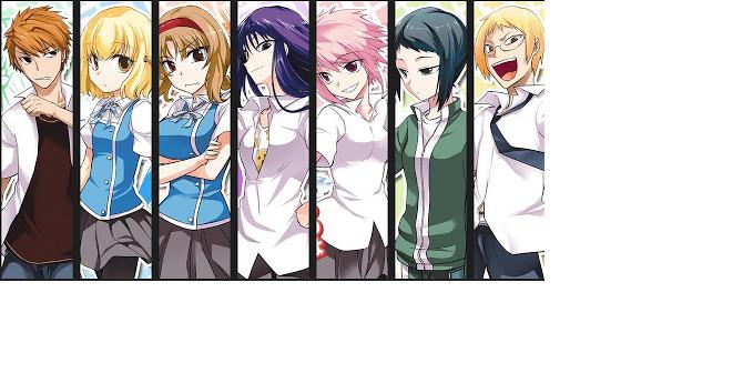 DFrag! Anime  Charaktere  anisearchde
