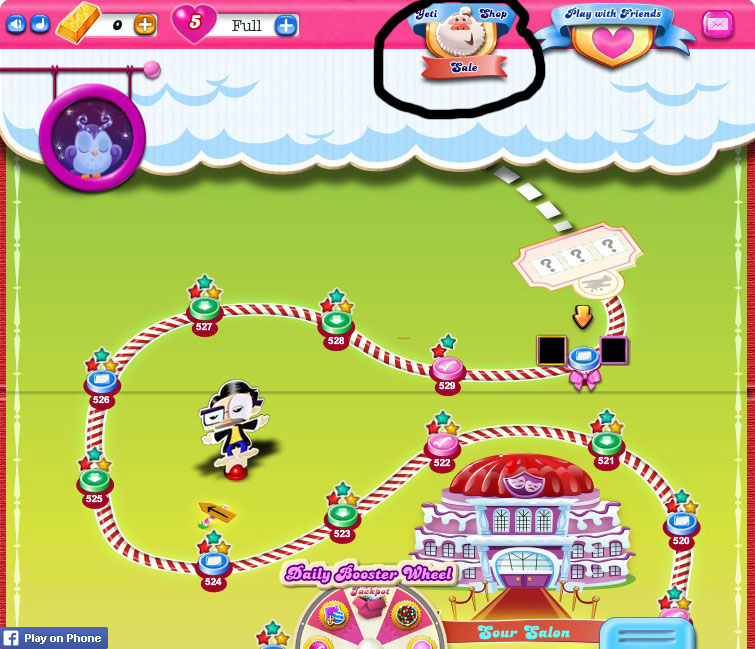 Yeti Shop - Candy Crush Saga Wiki