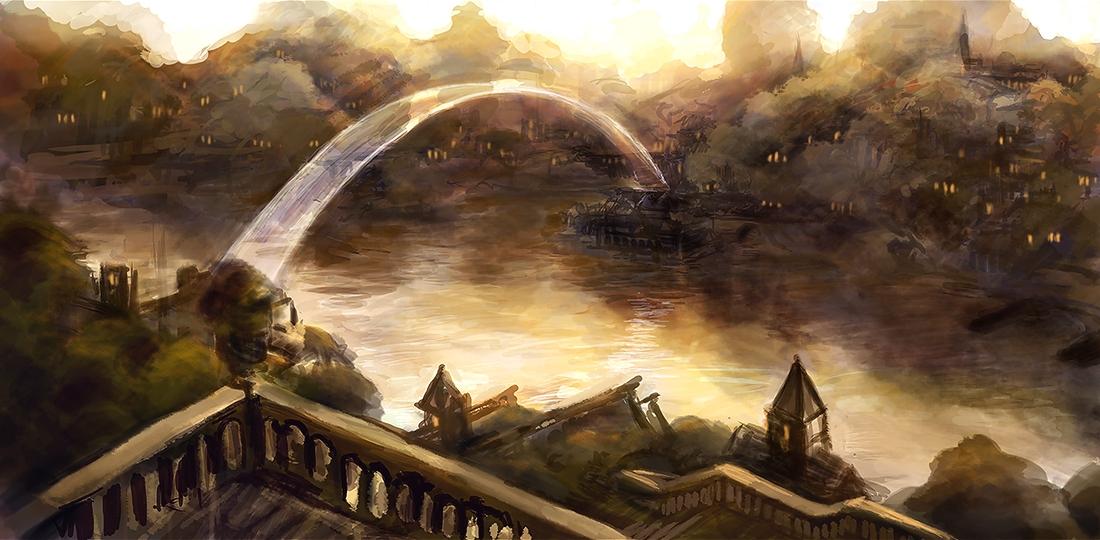 Il ponte di Silverymoon, un Mythal.
